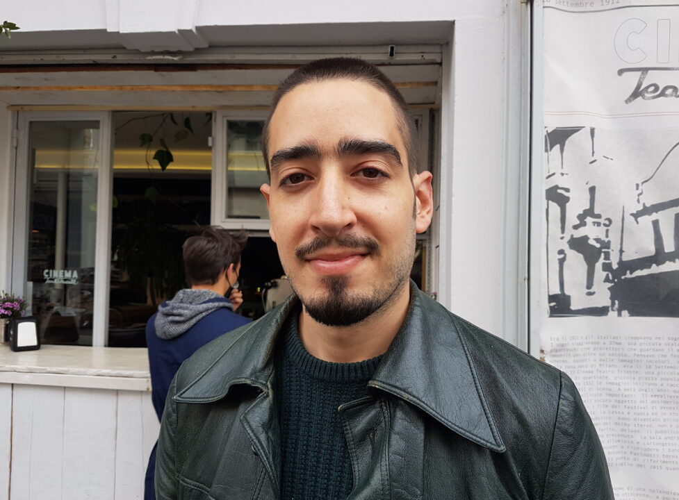 Antonio Santiago Ventura in una foto di Ermanno Accardi